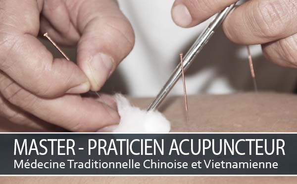 Cursus Master Praticien Acupuncteur